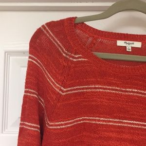 Madewell Linen sweater. Size L